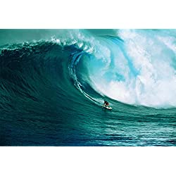 Let's Go Surfing Poster 36 x 24in
