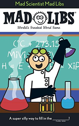 Mad Scientist Mad Libs (Interactive Halloween Party Ideas)
