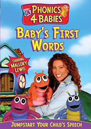 amazon com phonics for babies first words mallory lewis movies tv