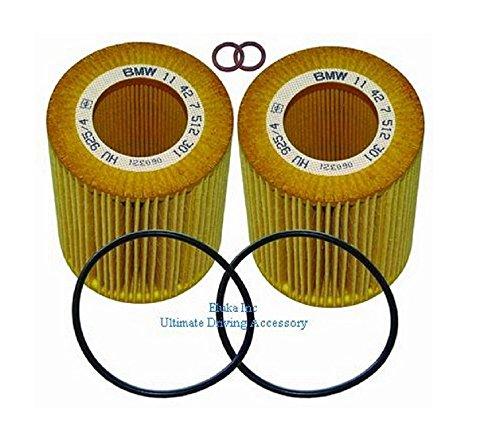 2 X BMW Genuine Oil Filters 525i 525xi 530i 530xi 528i 528xi 535i 535xi 530xi 535xi X5 3.0si X5 35iX X6 35iX 128i 135i M Coupé X3 3.0i X3 3.0si X1 28iX X1 35iX Z4 3.0i Z4 3.0si Z4 3.0si 128i 135i Z4 30i Z4 35i Z4 35is 323i 325i 325xi 328i 328xi 330i 330xi 335i 335xi 323i 328i 328xi