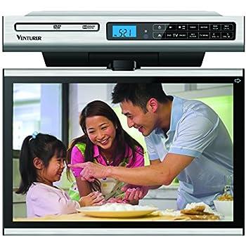 Venturer Klv3915 15 4 Inch Undercabinet Kitchen Lcd Tv Dvd