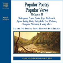 Collection: Popular Poetry / Popular Verse, Vol. 2 Audiobook by William Blake, John Donne, Alfred Tennyson, Edward Lear, John Keats Narrated by Jasper Britton, Emma Fielding, Tony Britton