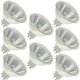 Industrial Performance FMW/CG-24V, 35 Watt, MR16, Twist-Lock (GU5.3) Base Light Bulb (8 Bulbs)
