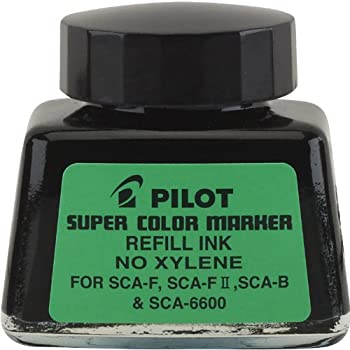 Amazon Com Pilot Super Color Permanent Marker Refill Ink