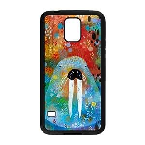 I Am the Walrus Samsung Galaxy S5 Cell Phone Case Black DIY Gift xxy002_0385399