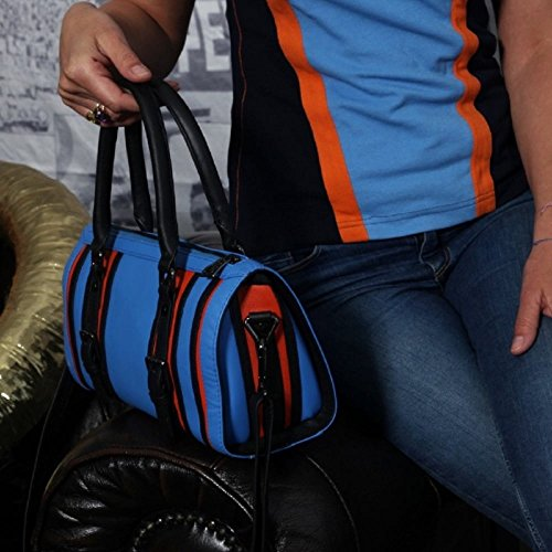 Grandprix Originals Gulf Leather Bowling Bag