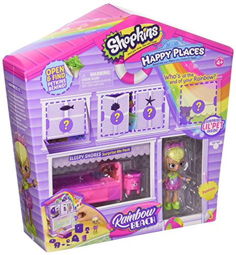 Place Furniture Collection - Shopkins Happy Places Rainbow Beach Furniture Set - Sleepy Shores