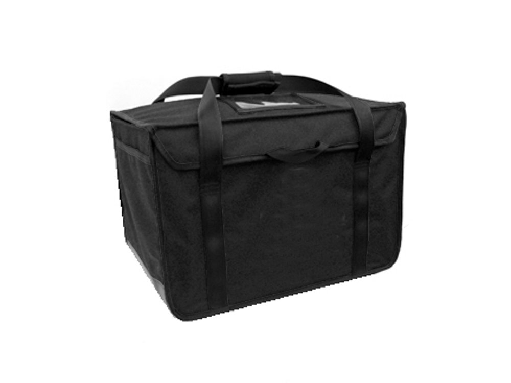 "RediHEAT HP142 Heated Food Delivery System, Regular Bag, 20"" Length x 13"" Width x 13"" Height, Black"
