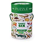 Crocodile Creek Thirty-Six Reptiles 100Piece Jigsaw Puzzle In Canister Puzzle