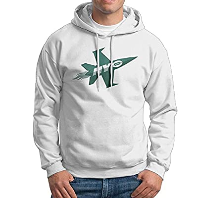 UFBDJF20 New York Plane Jets Men's Fleece HoodieWhite