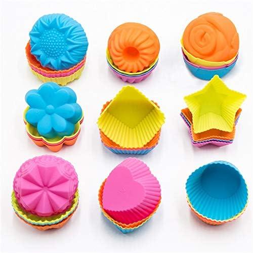 encounter Silicone Cupcake Baking Shapes