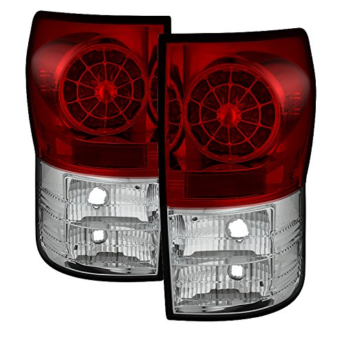 Housing Red Spyder Clear - Spyder Auto Toyota Tundra Red Clear LED Tail Light