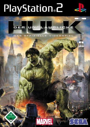 SEGA The Incredible Hulk, PS2 - Juego (PS2, DEU): Amazon.es: Videojuegos