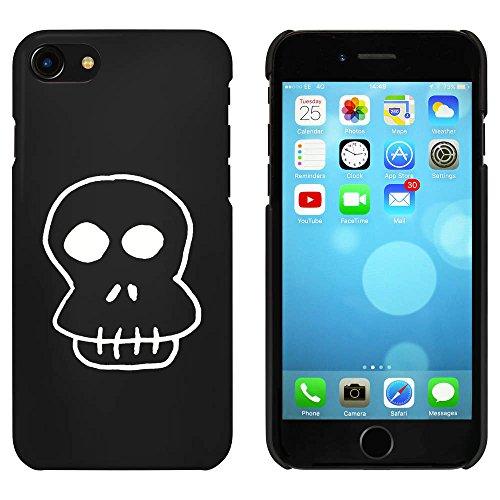 Noir 'Crâne Effrayant' étui / housse pour iPhone 7 (MC00076079)