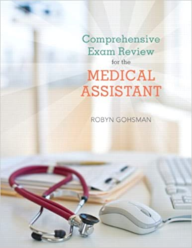 Comprehensive exam review for the medical assistant 9780135047408 comprehensive exam review for the medical assistant 1st edition fandeluxe Gallery