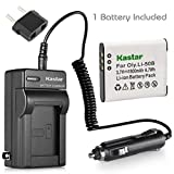 tough 8000 - Kastar Li-50B Battery and Charger for Olympus Stylus Tough 6020 8000 8010 and Stylus 1020 Stylus 1030 Stylus 9000 SP-720UZ SZ-10 SZ-11 SZ-12 SZ-15 SZ-16 SZ-20 SZ-30MR SZ-31MR Tough 6000 Tough 9000