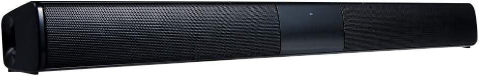 Docooler Barra de Sonido para televisores,Luxus inalámbrico BT 4.0 Altavoz SoundBar TV de Cine en casa 3D de Bass televisor de subwoofer con RCA Line – Mando a Distancia
