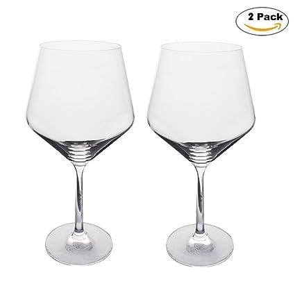 A-RQ Copa de Vino, Copa de Vino Blanco, Paquete de 2 Botellas