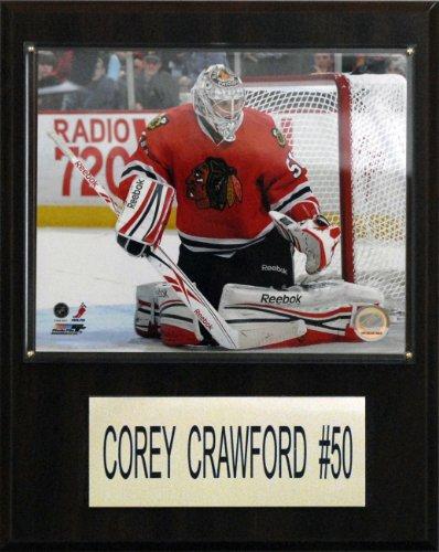 NHL Corey Crawford Chicago Blackhawks Player (Nhl Chicago Blackhawks Framed)