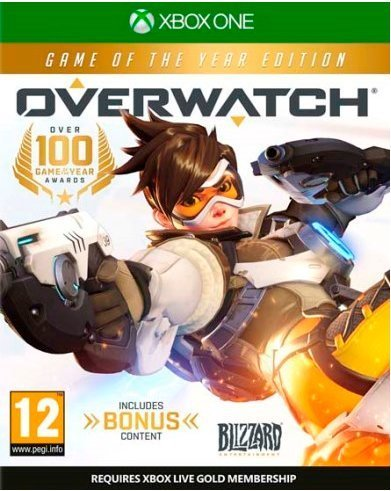 Overwatch Game of the Year Edition  UK IMPORT REGION FREE