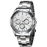 Men, quartz watches, fashion, business, retro, metal, W0156