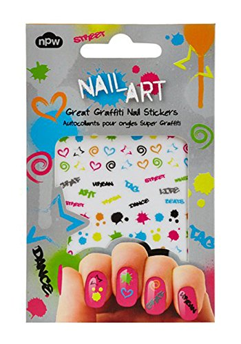 Amazon Npw Usa Nail Art Sticker Decals Graffiti Beauty