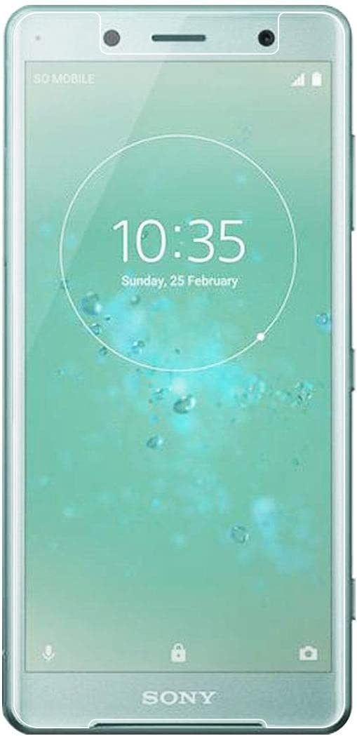 Leya Screen Protector 100 PCS for Sony Xperia XZ2 Compact 0.26mm 9H Surface Hardness 2.5D Explosion-Proof Tempered Glass Screen Film
