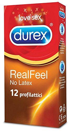 18 opinioni per Durex Real Feel Preservativi, 12 Pezzi