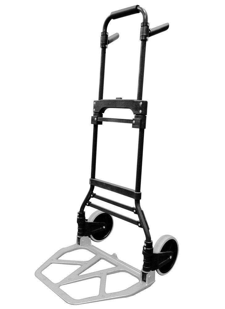 Milwaukee Hand Trucks 33894 Steel and Aluminum Fold up Hand Truck with 7-Inch Tires