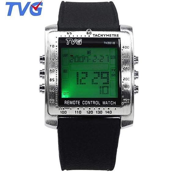 HWCOO TVG Watch Reloj electrónico de Deportes acuáticos a Prueba de Agua para Hombres Montañismo (Color : 1): Amazon.es: Relojes