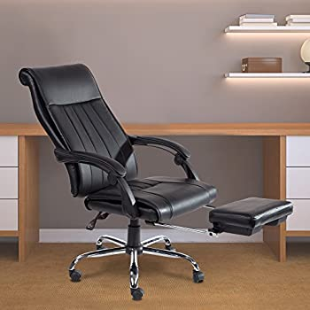 Acepro Reclining Chair High Back Executive Swivel Office Chair Racing Style Gaming Computer Versatile Desk Chair & Amazon.com: Flash Furniture High Back Black Leather Executive ... islam-shia.org