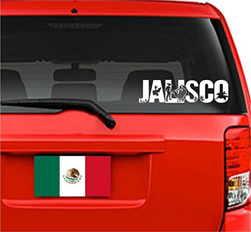 Jeyfel Decals: Vinyl Decal Sticker. Car, Window, Wall... Emblema Jalisco, México (11.75