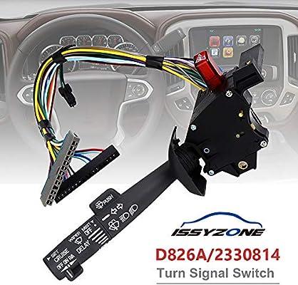 amazon com: multi-function combination switch for chevy tahoe suburban  blazer turn signal switch 2330814 26100985 26036312: automotive