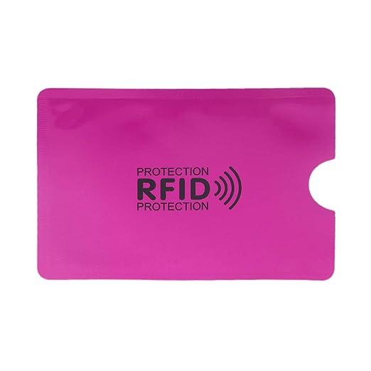 Vxhohdoxs - Funda protectora para tarjetas de crédito, RFID ...
