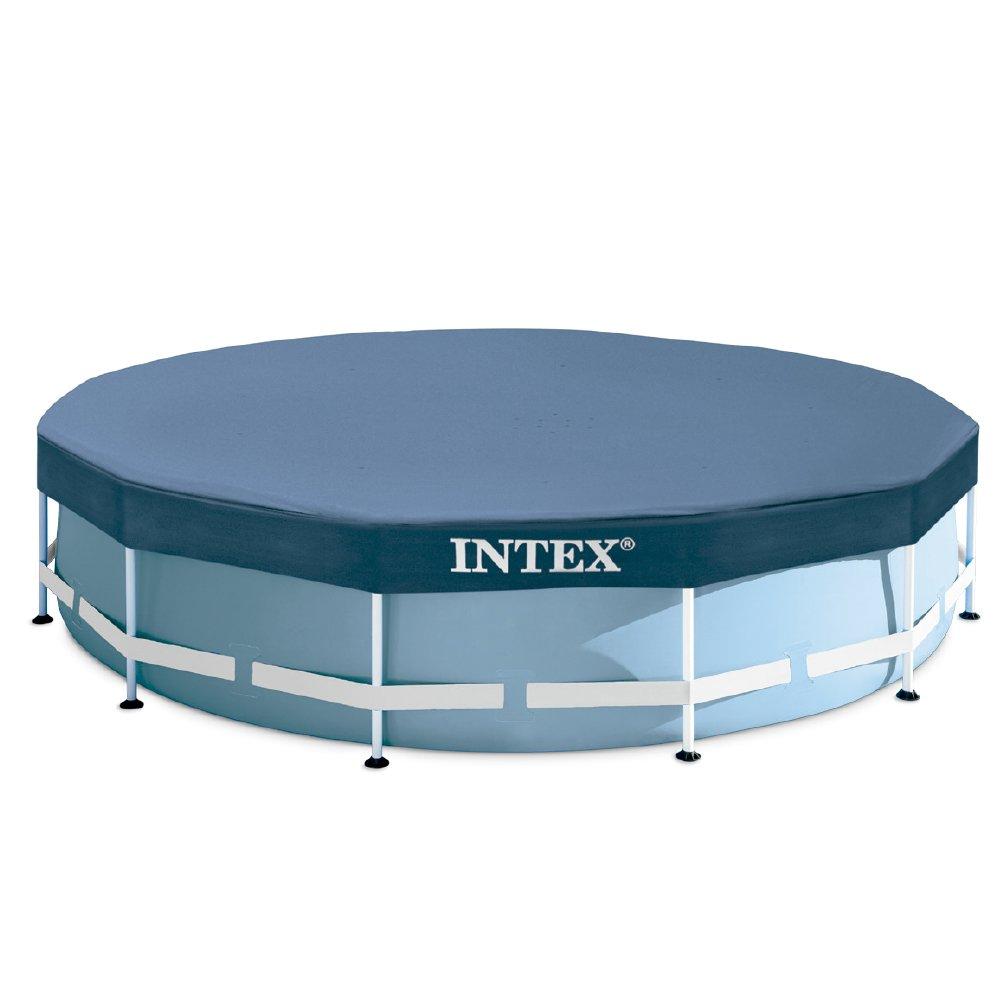 Intex Prisma Frame - Piscina desmontable, 457 x 84 cm, con depuradora y complementos (28728NP): Amazon.es: Jardín