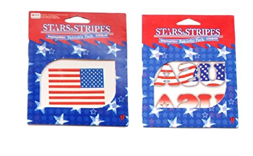 Flag USA Patriotic Tattoo Halloween Costume Accessory