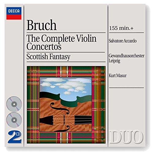 Concerto Violin Max Bruch - Bruch: Complete Violin Concertos / Scottish Fantasy