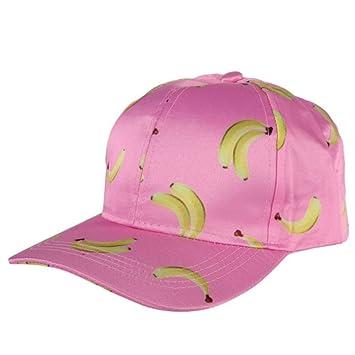 WYLBQM Sombrero Mujeres de los Hombres al Aire Libre Banana Fruit ...