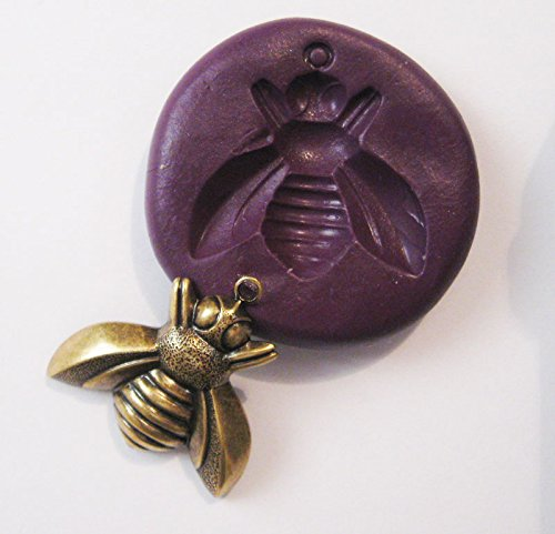 Flying BEE Flexible Food Grade Silicone Push Mold for Polymer Clay, Resin,wax,miniature Food,sweets,plaster
