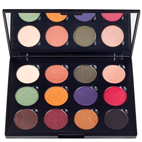 Coastal Scents Fall Festival Palette, 12 Eyeshadow Makeup Kit, 8.5-Ounce