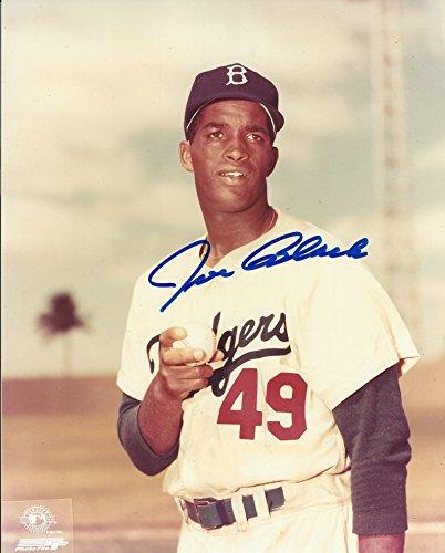 - Autographed Joe Black 8X10 Brooklyn Dodgers Photo