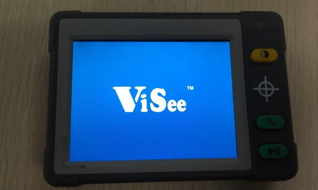 ViSee 3.5'' LCD Portable Electronic Digital Magnifier Reading Aid for Low Vision