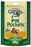 GREENIES PILL POCKETS Soft Dog Treats, Chicken, Capsule, 7.9 oz.