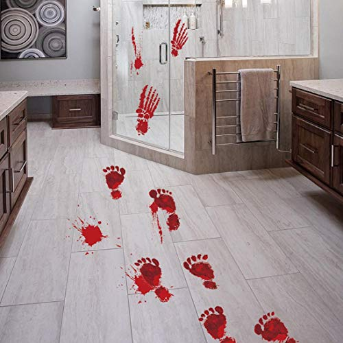 Elevin(TM) Halloween 3D Self Adhesive Wall Stickers Remove Wall Decal Paper Art Home Decor (Z)