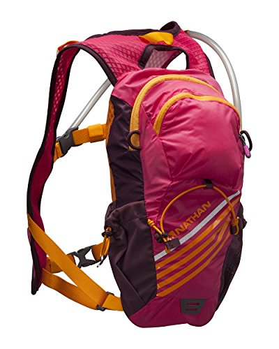 Nathan FireStorm Race Vest Hydration Pack, 2-Liter, One Size, Sparkling Cosmo (Nathan Race Vest)