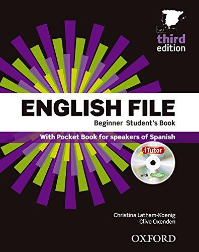 English File Beginner 3Rd Edition, Student's Book And Workbook With Key Pack