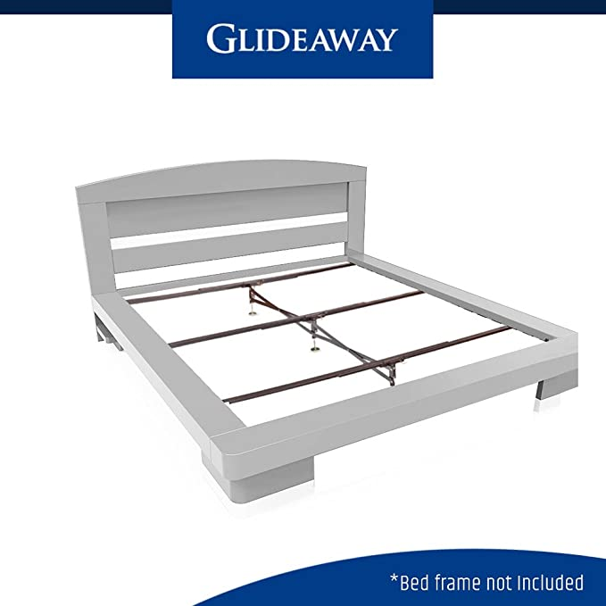 Amazon.com: Glideaway X Support Bed Frame Support System, GS 3 XS Model   3  Cross Rails And 3 Legs   Strong Center Support Base For Full, Queen And  King ...