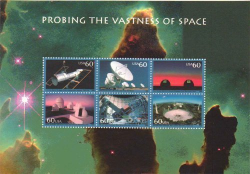 Space Stamps Mint - 6