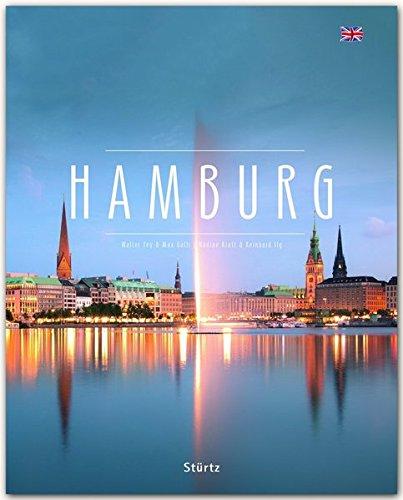 HAMBURG - Ein Premium***-Bildband in stabilem Schmuckschuber mit 224 Seiten und über 290 Abbildungen - STÜRTZ Verlag - English Edition