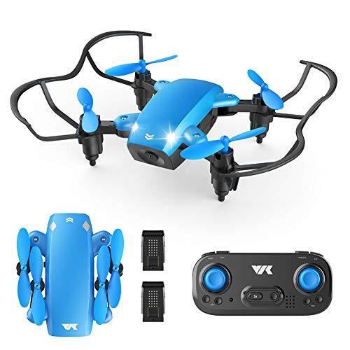 VIK Foldable Mini Drone for Kids/Beginners Pocket RC Drone Toys